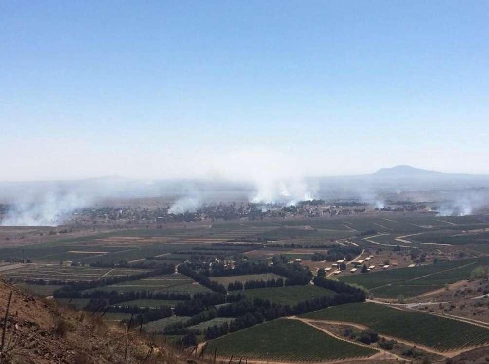 Rebeldes tomam controle de passagem entre Israel e Síria