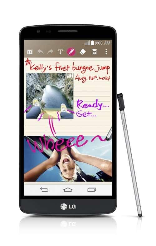 LG anuncia G3 Stylus, com caneta para anotações no celular