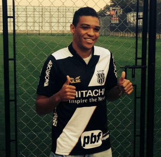 Nathan chega à Ponte em busca do 1º gol como profissional