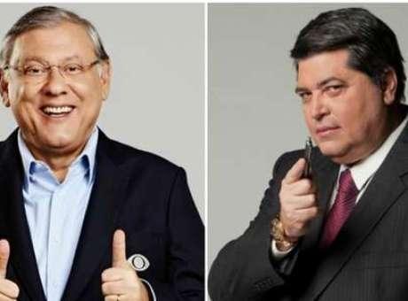Milton Neves e Datena brigaram ao vivo no domingo