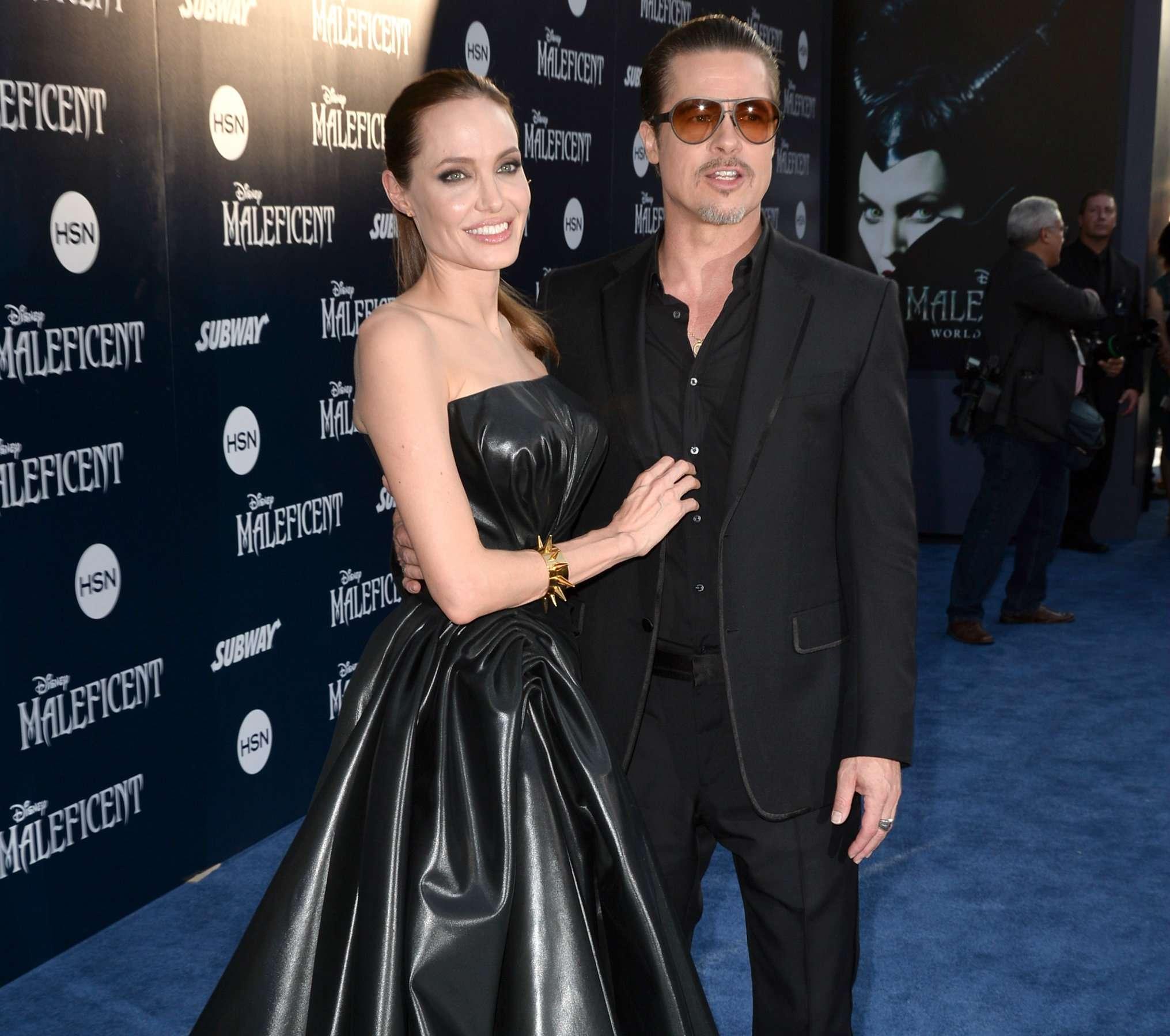 Angelina Jolie y Brad Pitt se casaron en Francia Foto: Getty