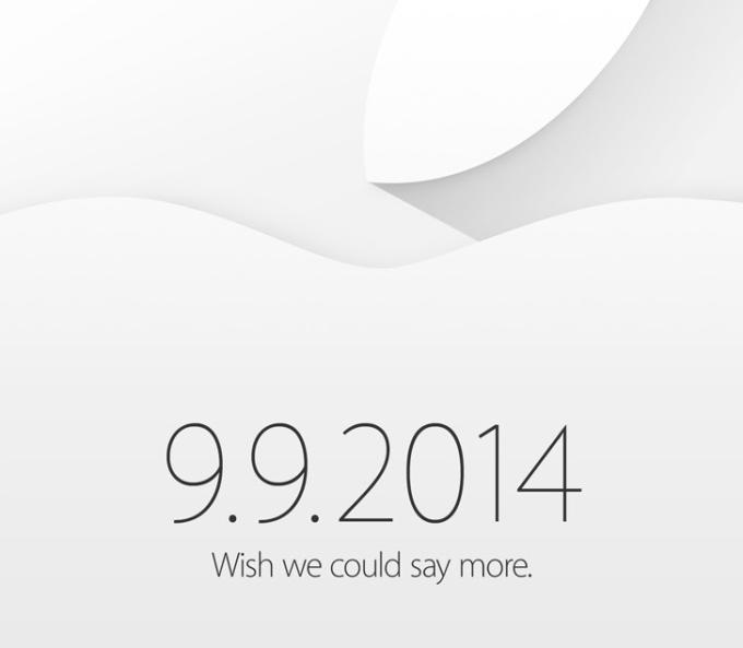 É oficial: Apple vai lançar novidades no dia 9 de setembro