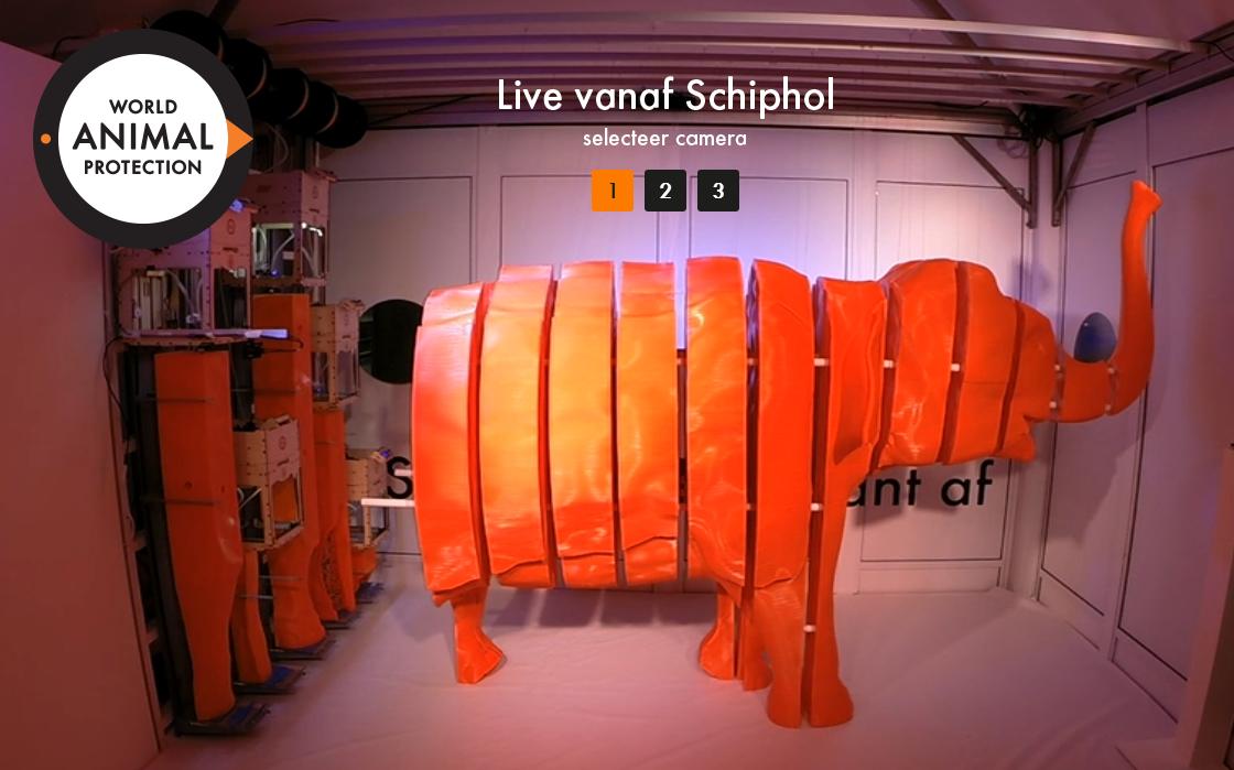 Petição cria elefante em tamanho real com impressora 3D