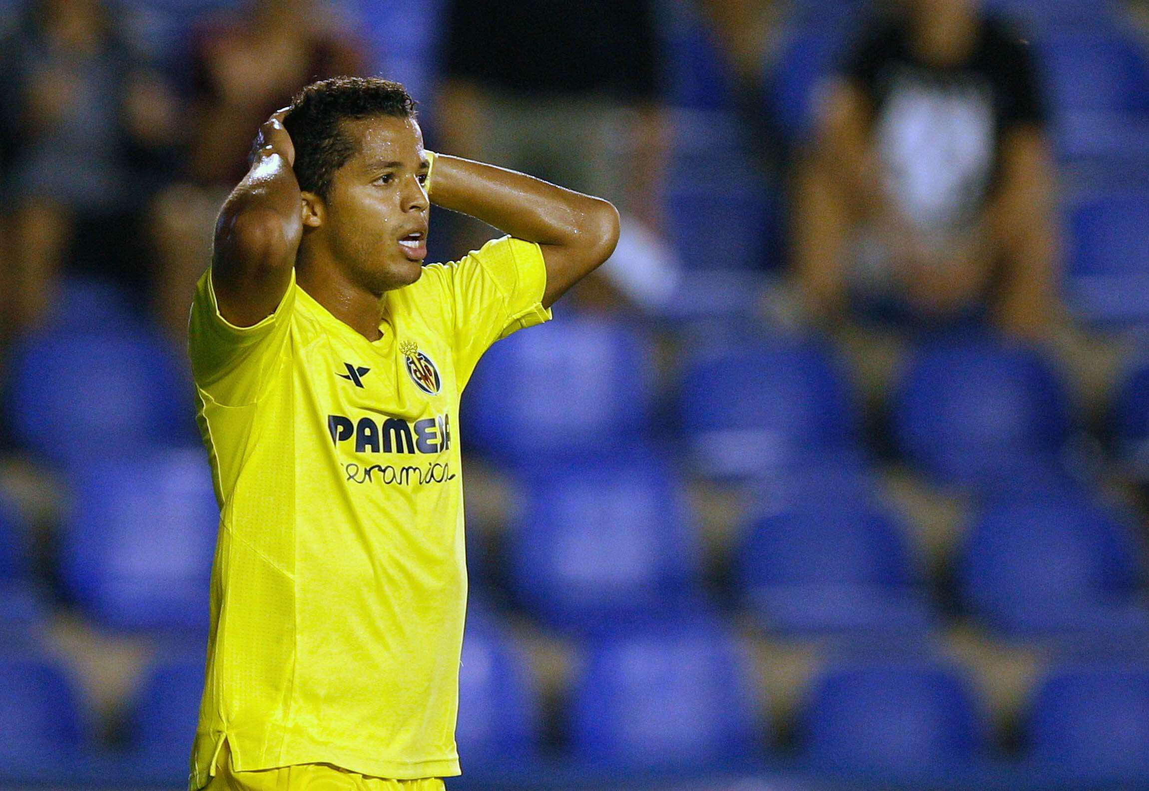 Giovani dos Santos estuvo en la banca en el partido ante Astana en la UEFA Europa League. Foto: EFE