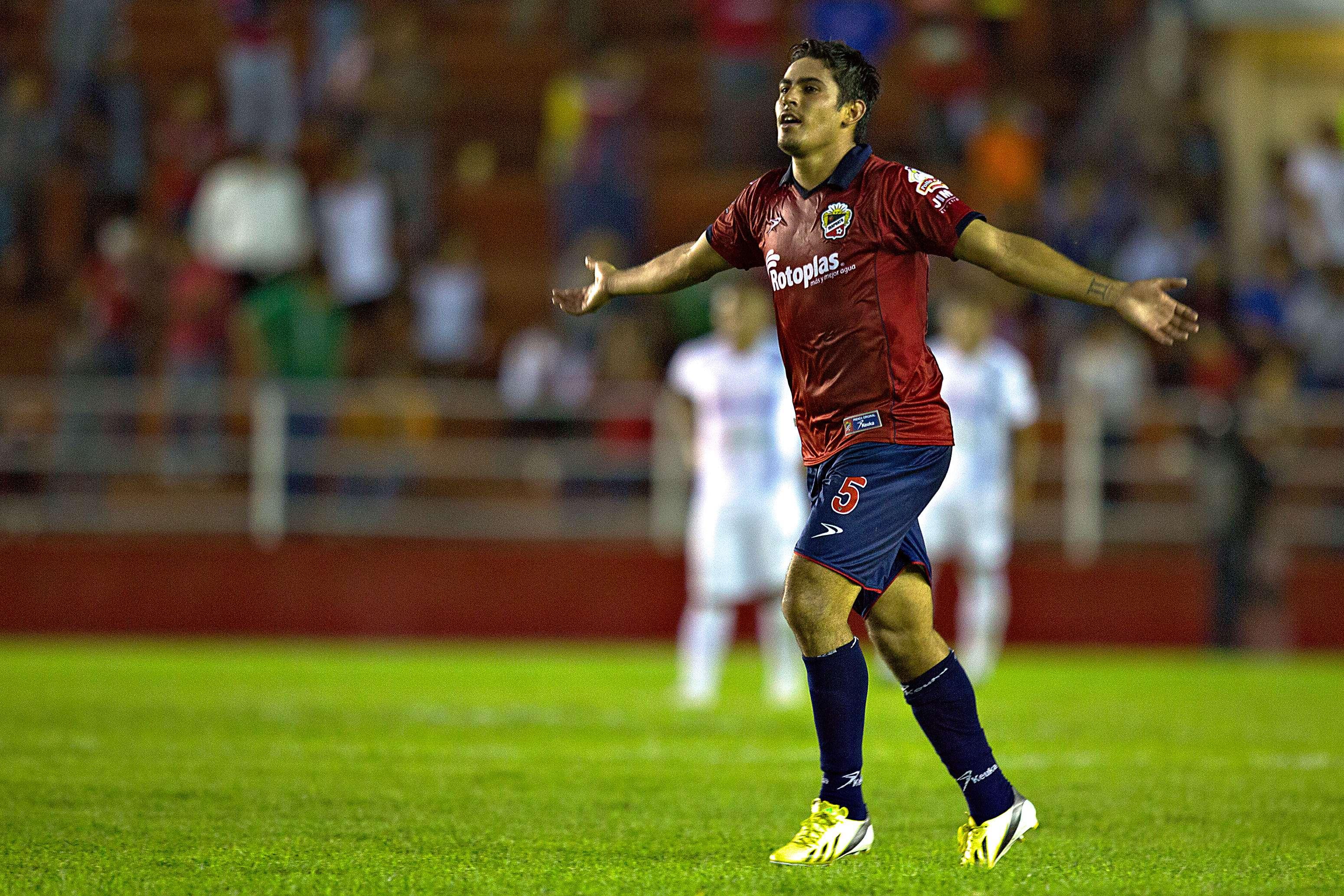 "Marco Tovar hizo el primer gol de los ""freseros"". Foto: Imago 7"