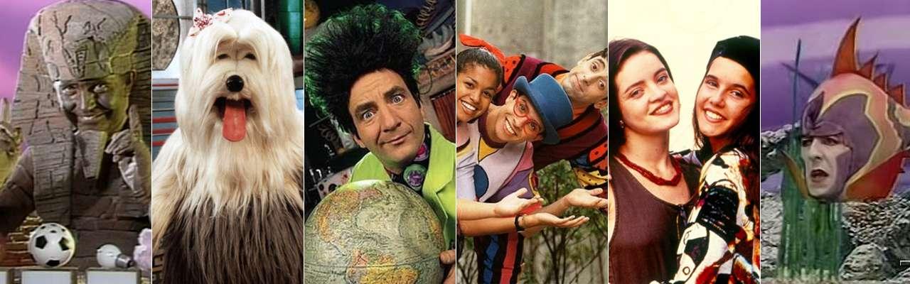 Qual programa ajudou a formar seu caráter nos anos 90?