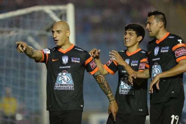 """Los """"Tuzos"""" marchan perfectos en la Concachampions. Foto: Getty Images"""