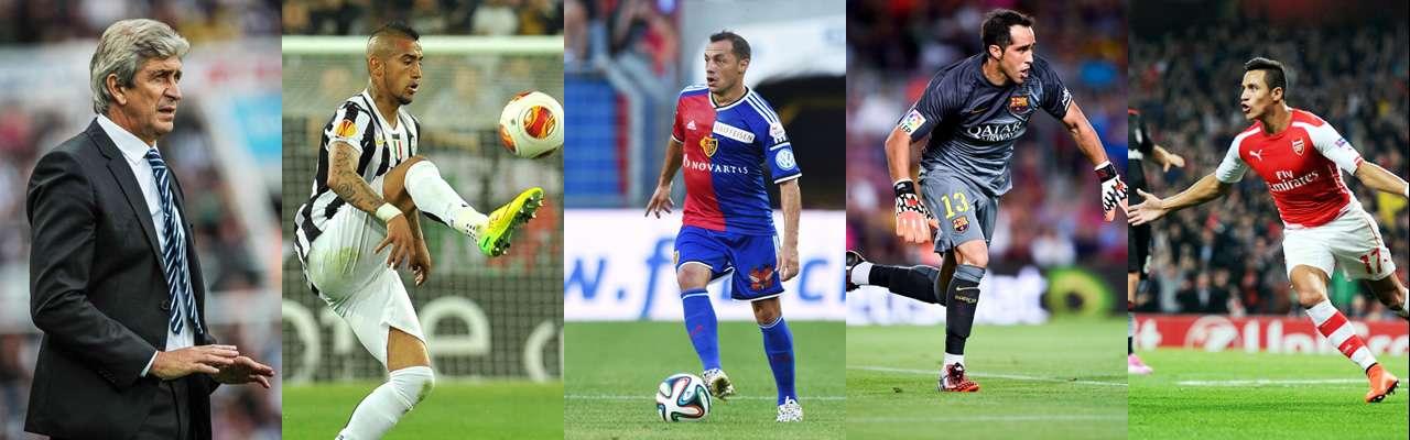 Sorteo Champions: Pellegrini, Alexis y Bravo en duros grupos