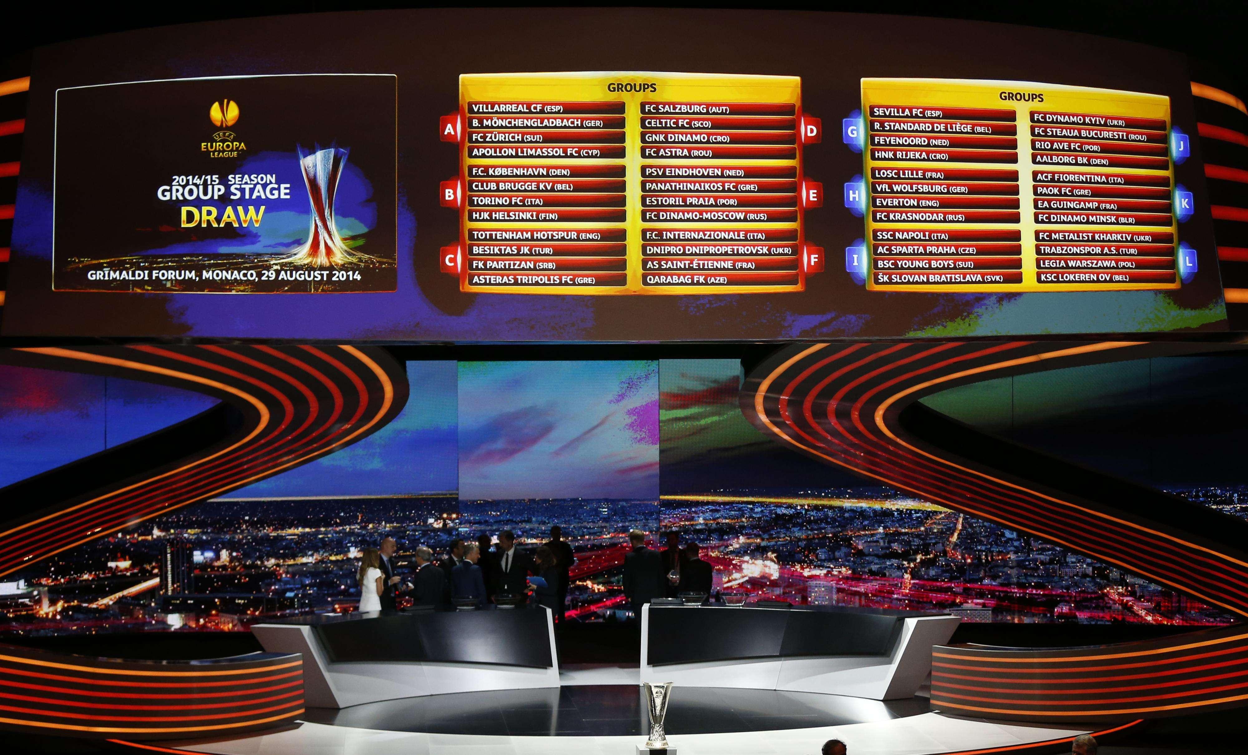Sevilla, Valencia e Inter conocen su camino en Europa League