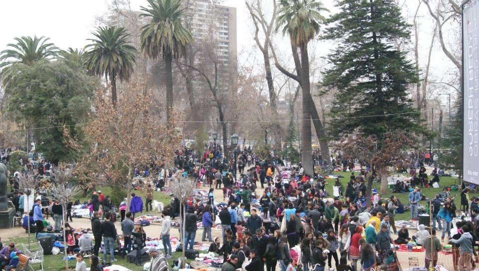 Facebook Feria de las Pulgas Parque Forestal