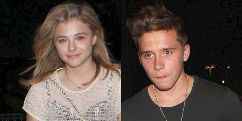 Filho de Beckham e namorada vão ao show de Ed Sheeran