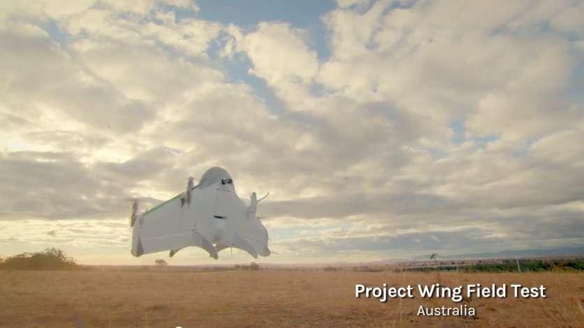 Google revela projeto de entregas por drones