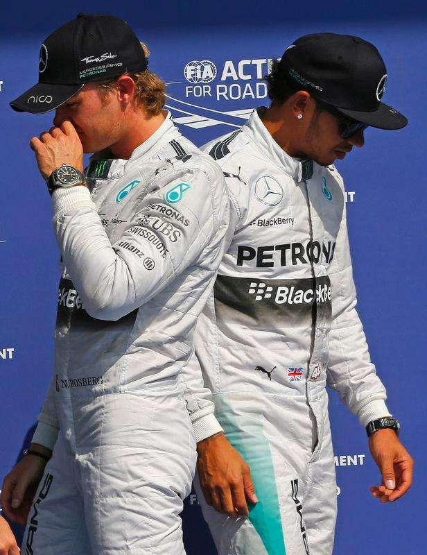 Rosberg se desculpa e recebe punição da Mercedes por ...