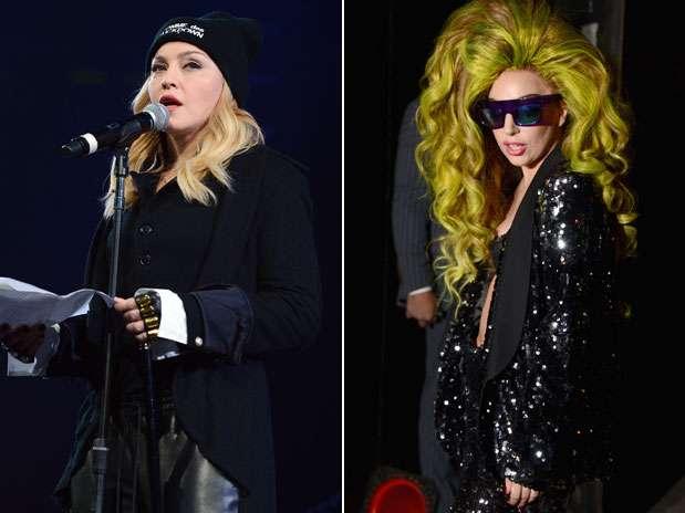Madonna ataca Lady Gaga em nova faixa e a chama de imitadora