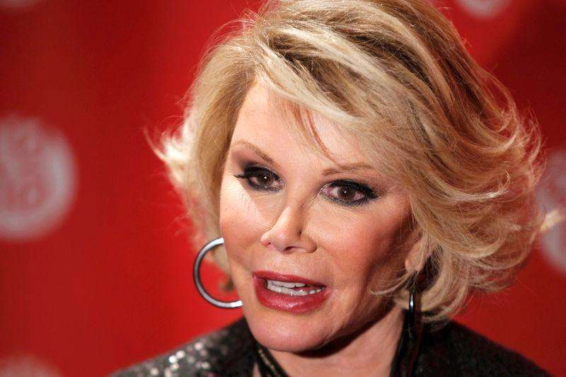 Comedian Joan Rivers still resting comfortably at New ...