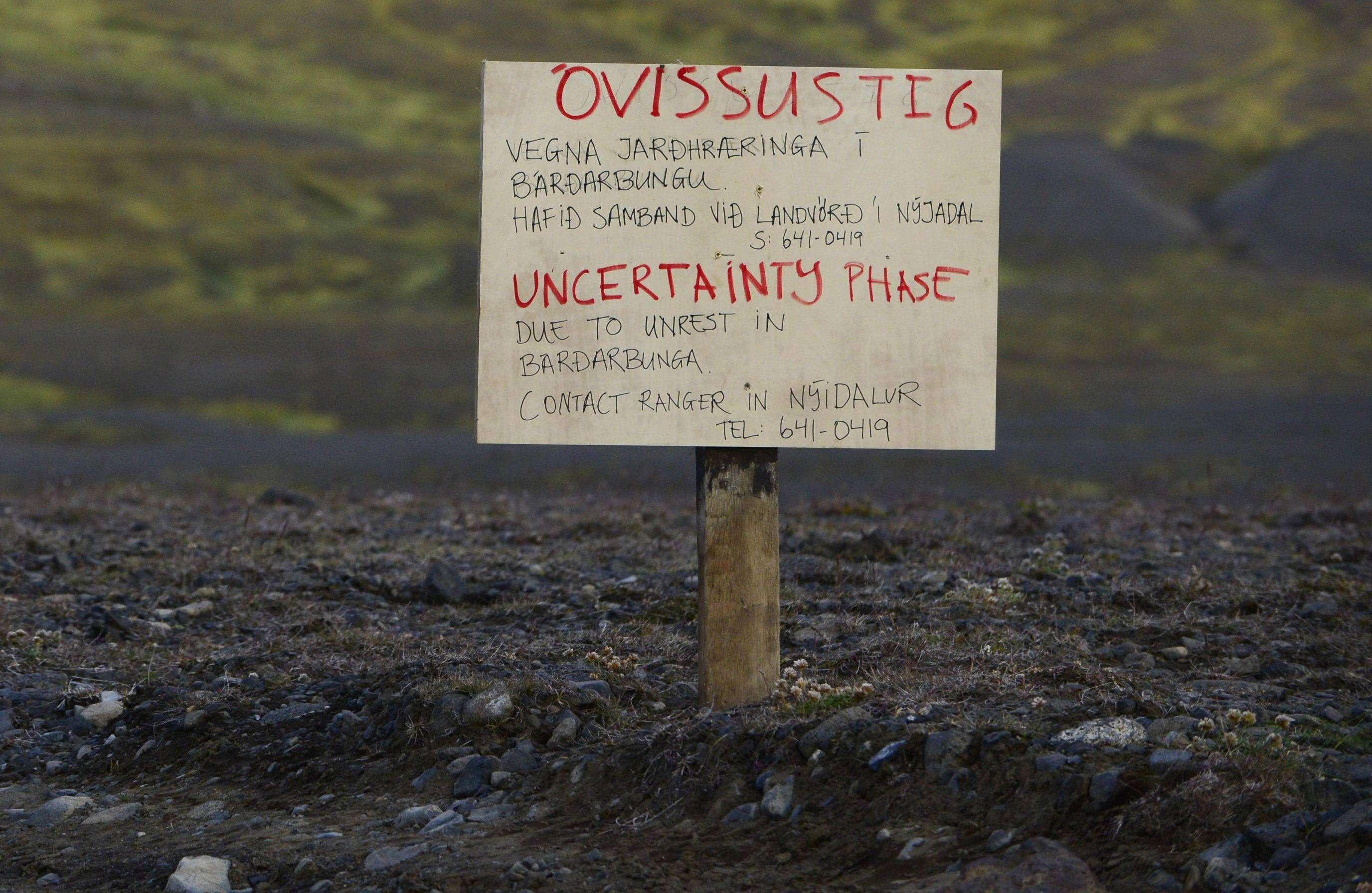 Prohibido sobrevolar el volcán Bardarbunga, ya en erupción