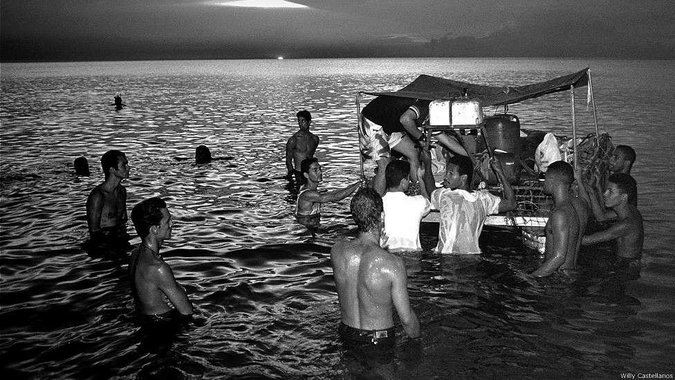 En fotos: la crisis de los balseros cubanos