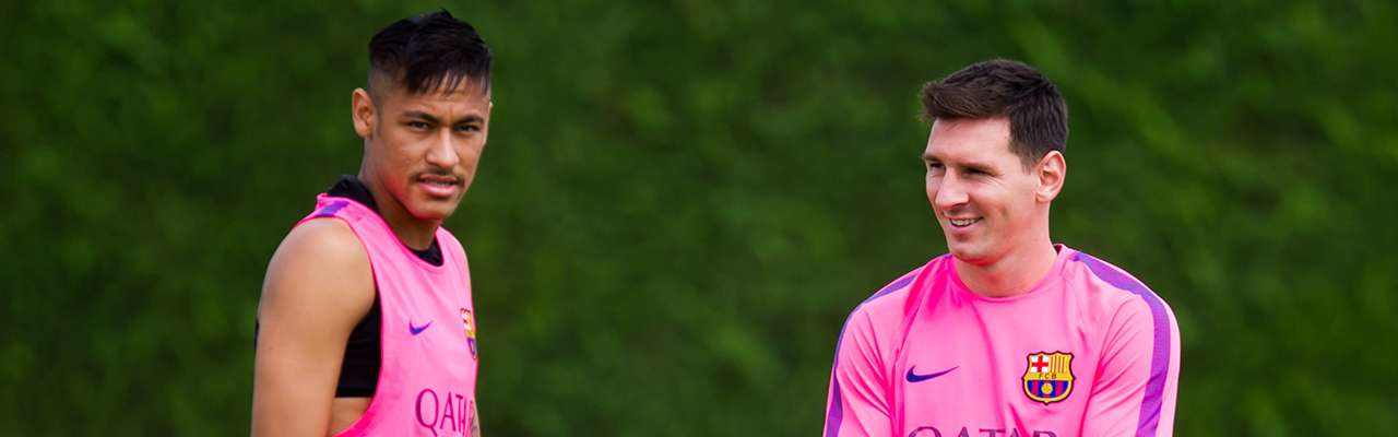 Neymar podrá volver a jugar junto a Messi Foto: Getty Images