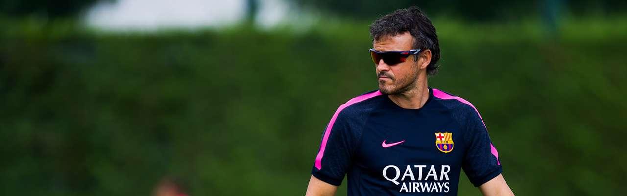 Luis Enrique, entrenador del FC Barcelona Foto: Getty Images
