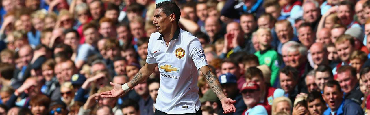 United cant beat Burnley in Di Maria's debut