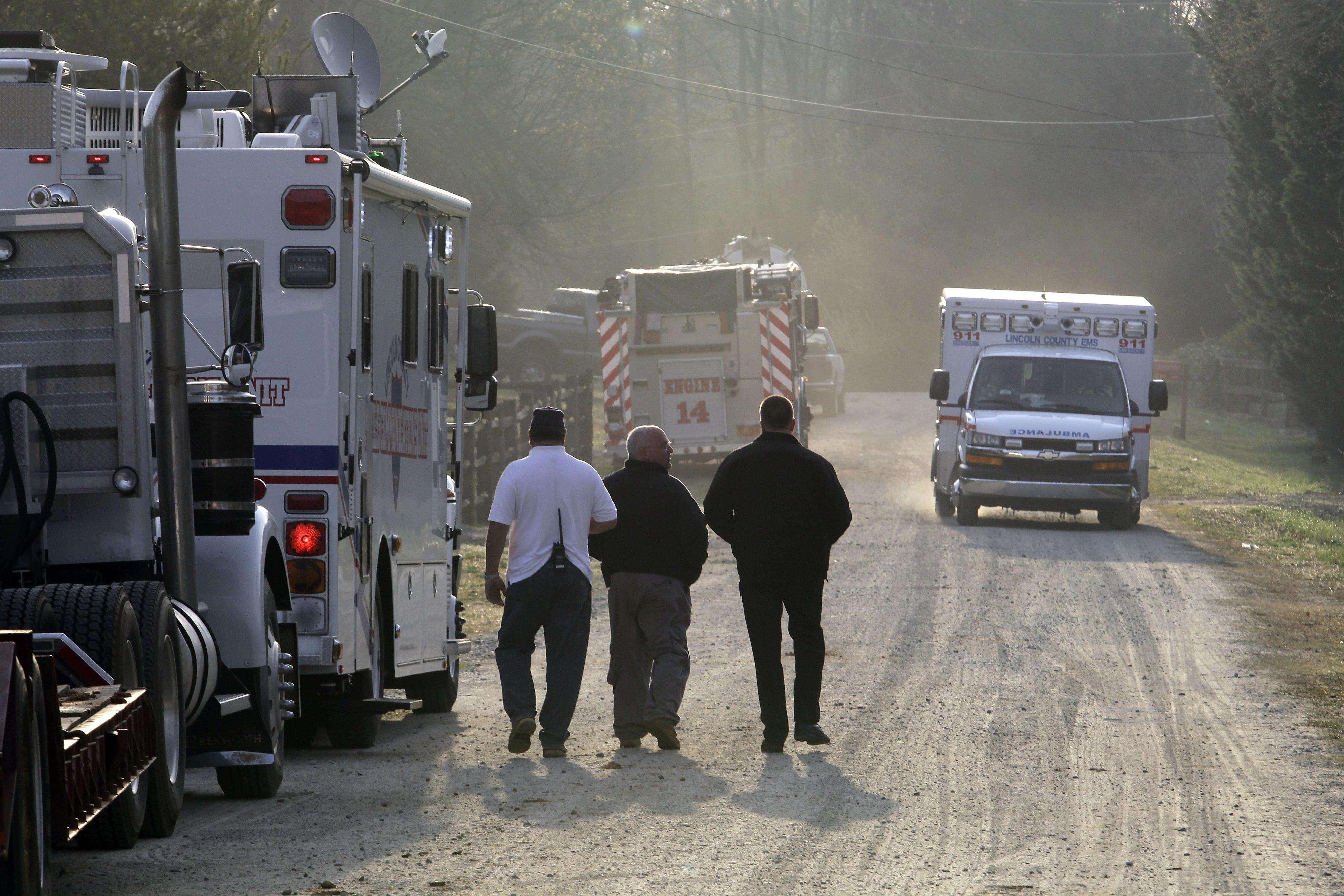 Incendio en casa de Carolina del Norte deja seis muertos