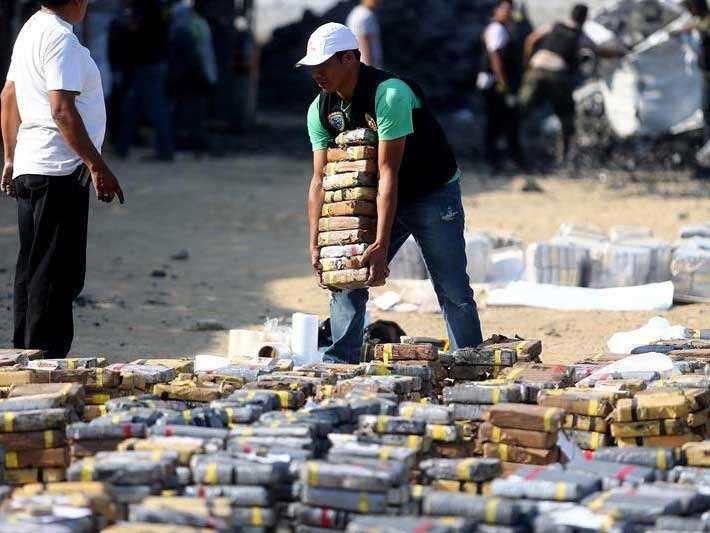 Carga histórica de cocaína en Perú iba a España y Bélgica
