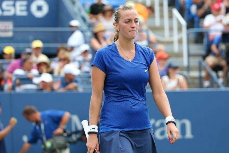 Kvitova joins upset list at hands of little-known Krunic