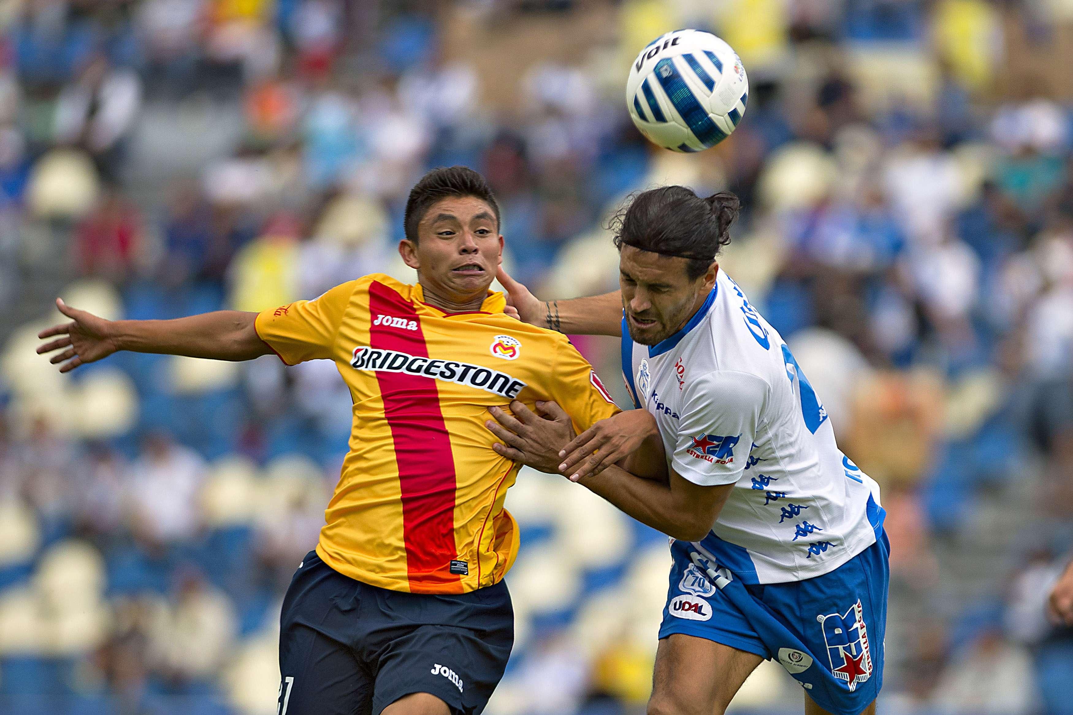 Puebla consigue su primer triunfo en casa ante Morelia 3-2. Foto: Mexsport