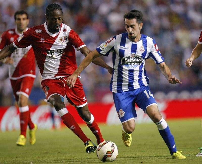 El Deportivo rescata su primer punto en el tiempo añadido