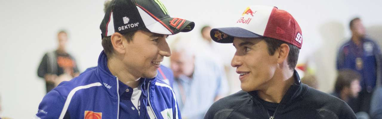 Jorge Lorenzo y Marc Márquez, pilotos de MotoGP