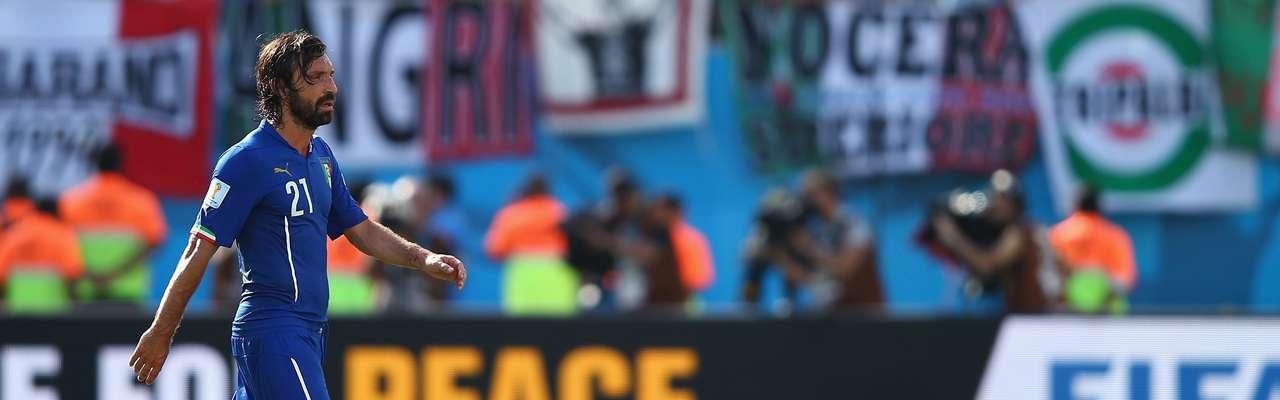 Pirlo y Balotelli, fuera de la primera lista de Conte