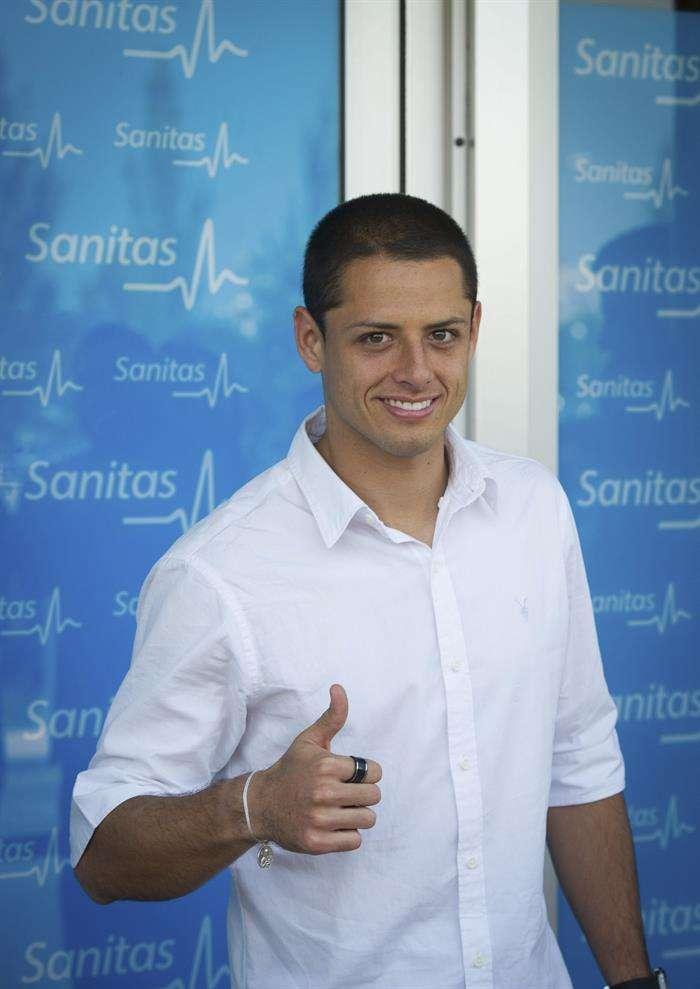 Real Madrid confirma fichaje del 'Chicharito' Hernández