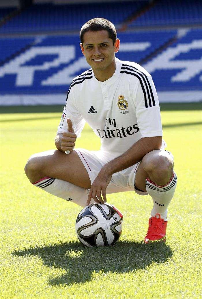 'Chicharito' y los mexicanos que han jugado en Real Madrid