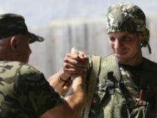 Los extranjeros que luchan en el conflicto de Ucrania