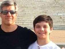 Ed Damiano y su hijo David