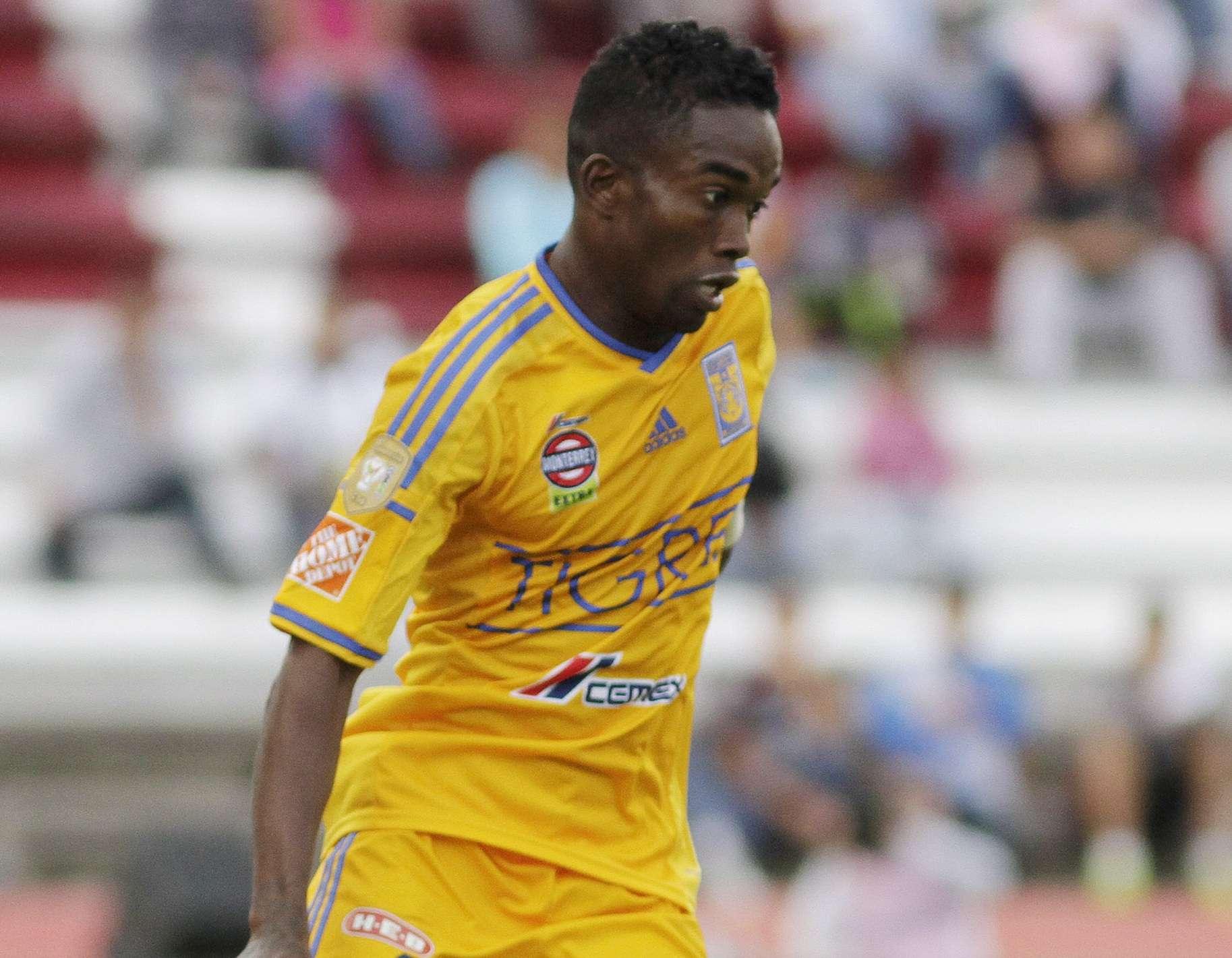 Darío Burbano suma dos goles con Tigres en el Apertura 2014. Foto: Imago7