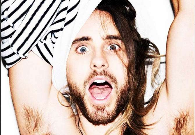 Jared Leto de 30 Seconds to Mars. Foto: Instagram