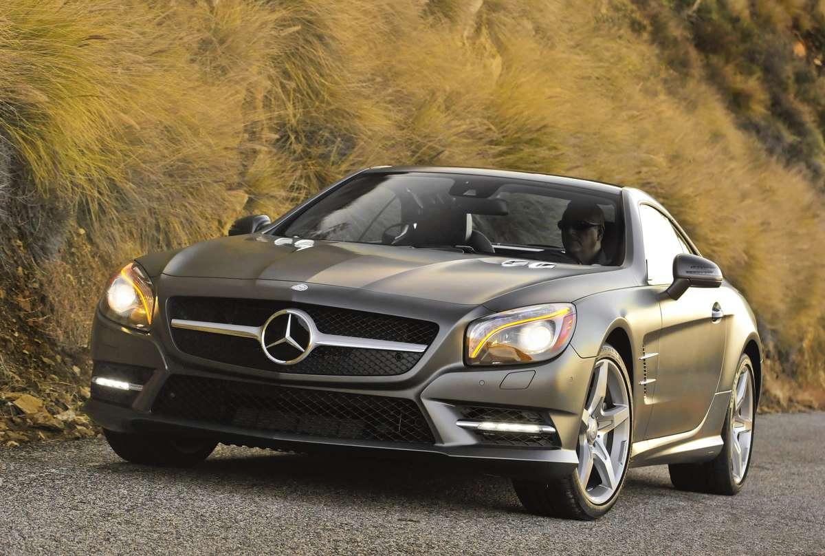 Mercedes-Benz SL550 2015 Foto: Mercedes-Benz