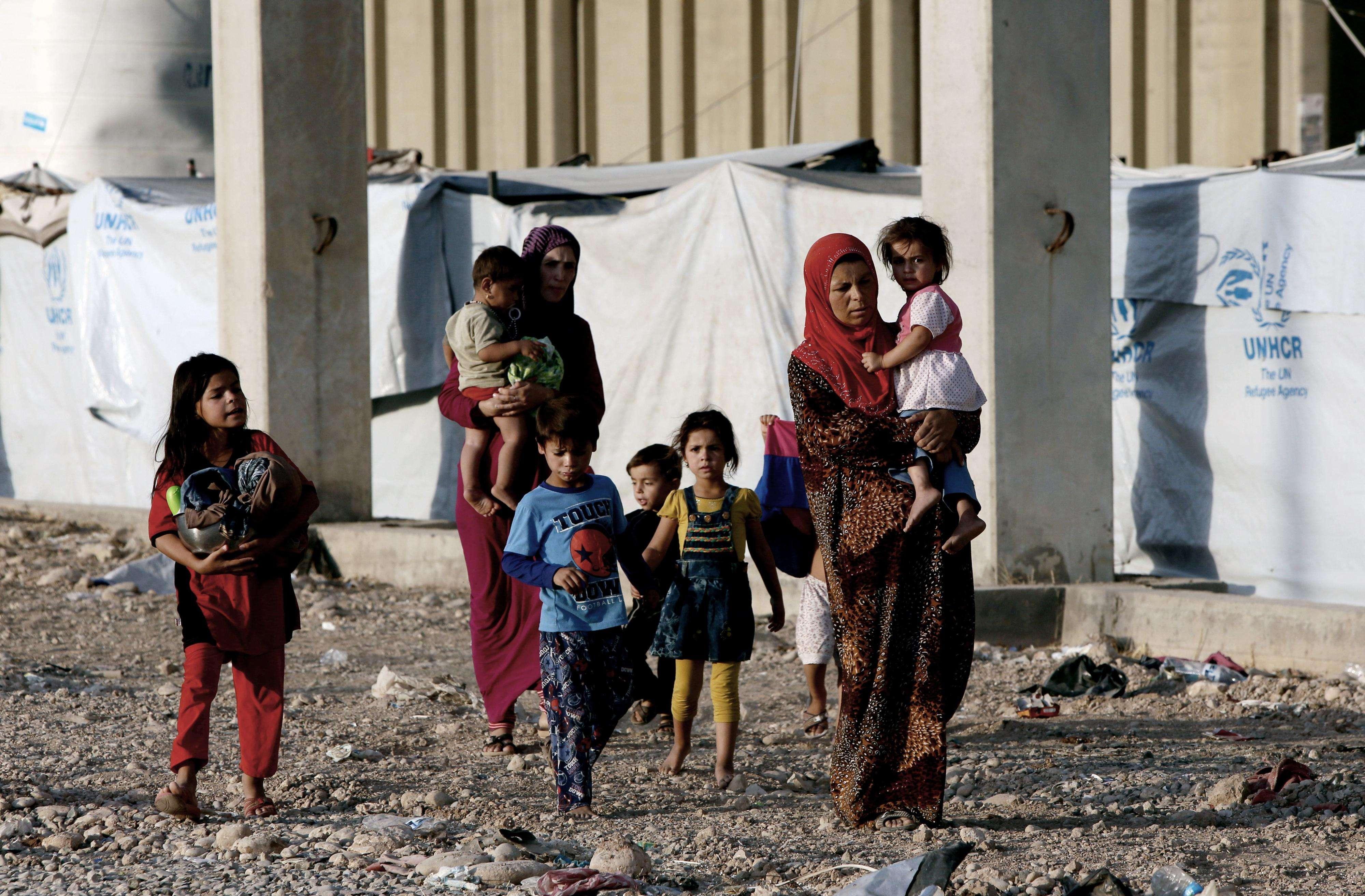 ONU: Más de 2.000 mujeres y niños secuestrados  en Irak