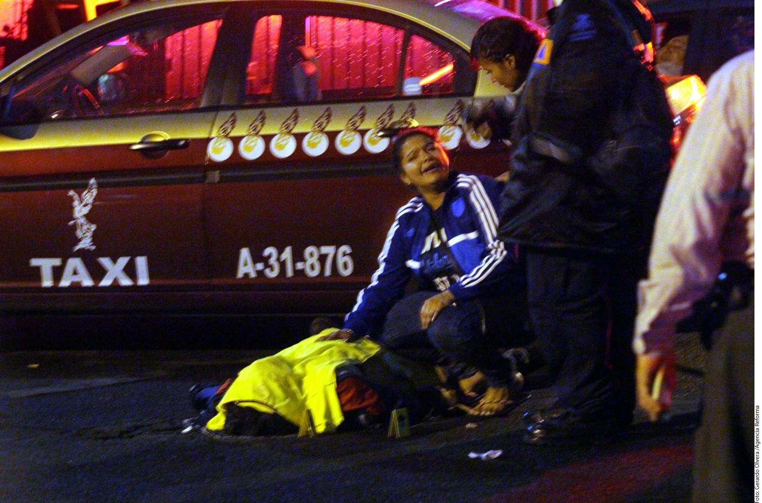 Matan a hombre tras partido de futbol en DF