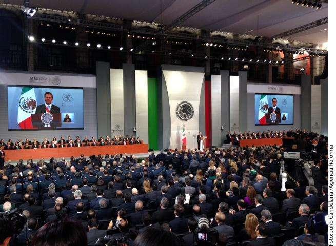 Enrique Peña Foto: Agencia Reforma