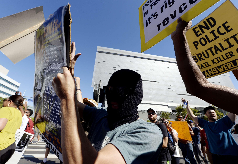Policía de Los Ángeles ha asesinado a 595 personas