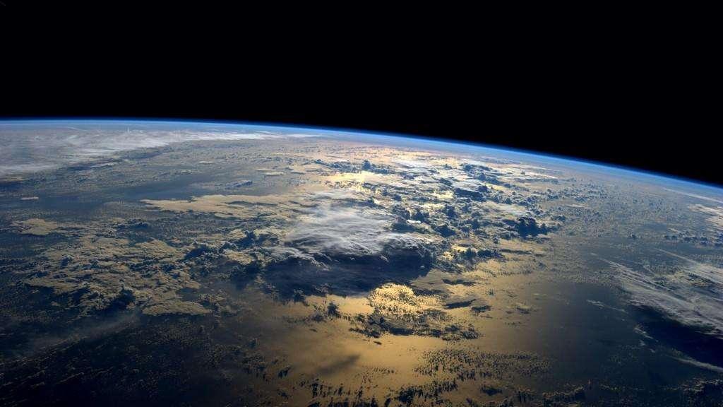 El astronauta Reid Wiseman compartió en la red social Twitter una fotografía del océano tomada desde la Estación Espacial Internacional. Foto: NASA/Reid Wiseman (@astro_reid)