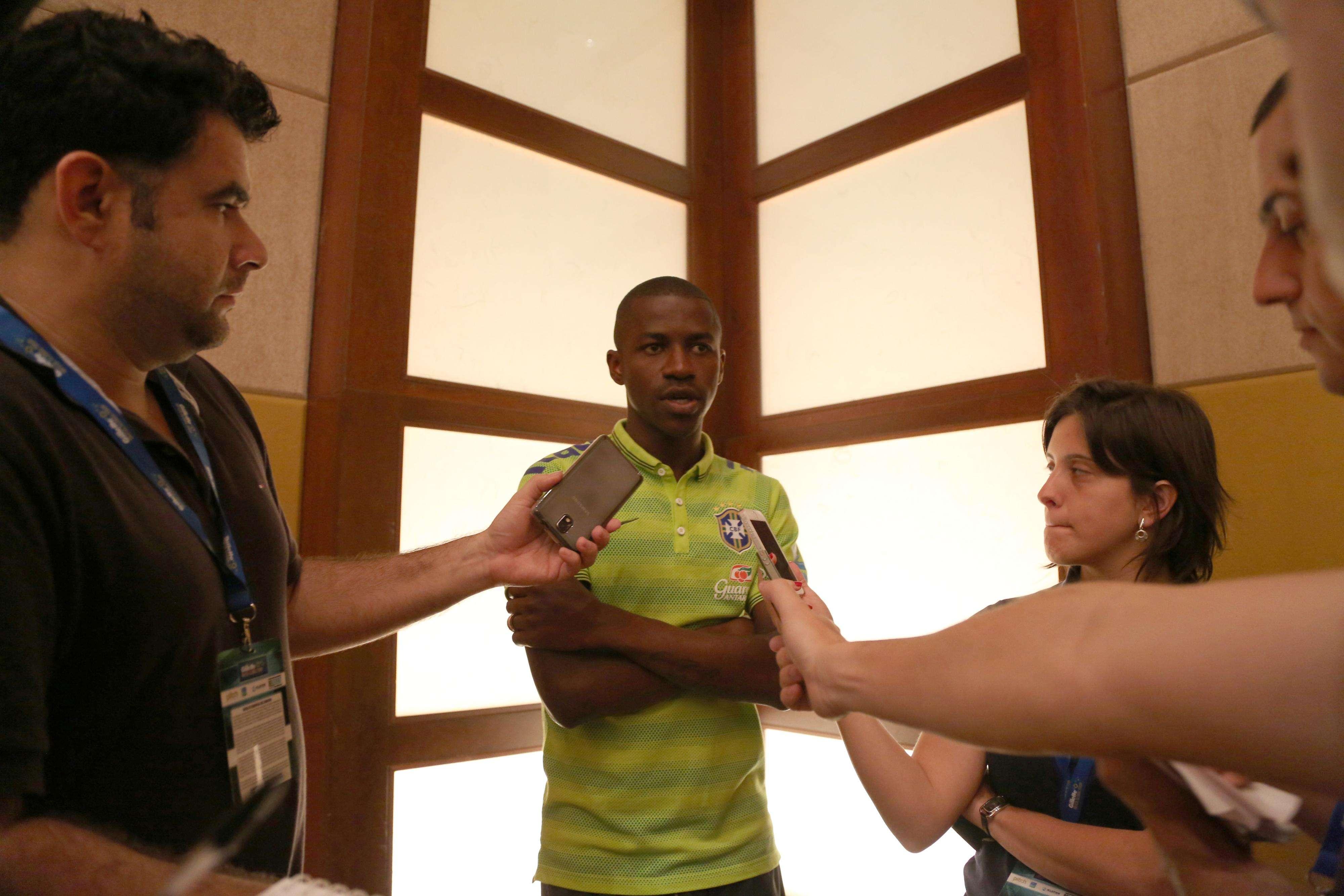 Ramires foi um dos convocados da primeira lista de Dunga em seu retorno à Seleção Foto: Bruno Domingos/Mowa Press/Divulgação