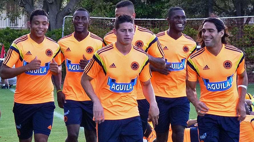 La selección Colombia prepara su amistoso ante Brasil Foto: Colfútbol