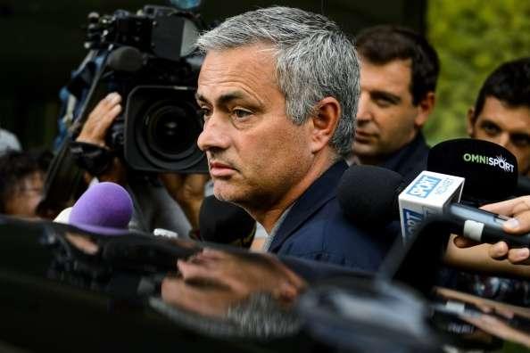 Mourinho elogió a Luis Enrique en el Fórum de la UEFA. Foto: AFP