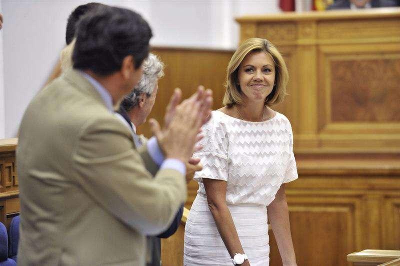 La presidenta de Castilla-La Mancha, María Dolores de Cospedal. Foto: EFE