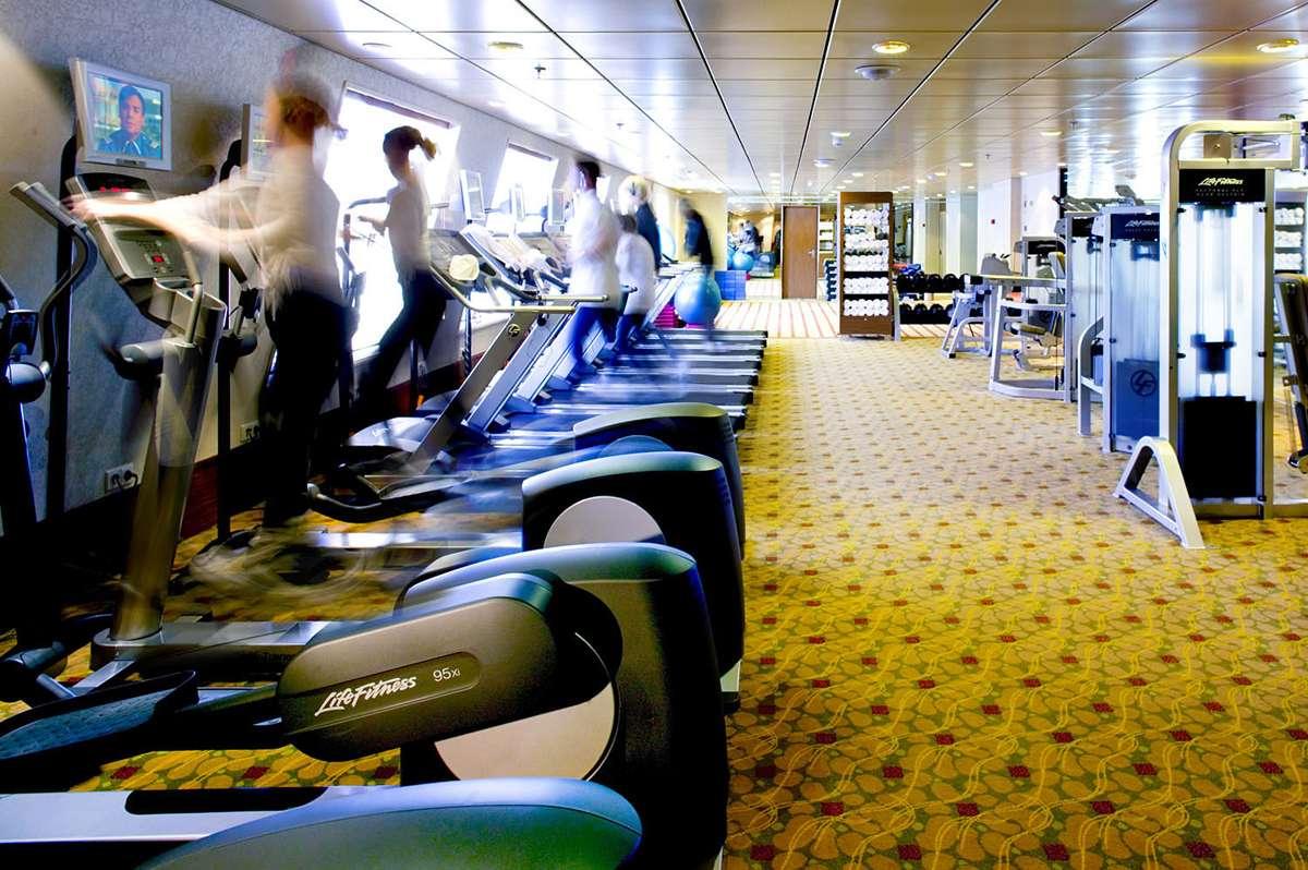 Equipamentos usados por atletas olímpicos serão disponibilizados em navio de cruzeiros Foto: Crystal Cruises/Divulgação