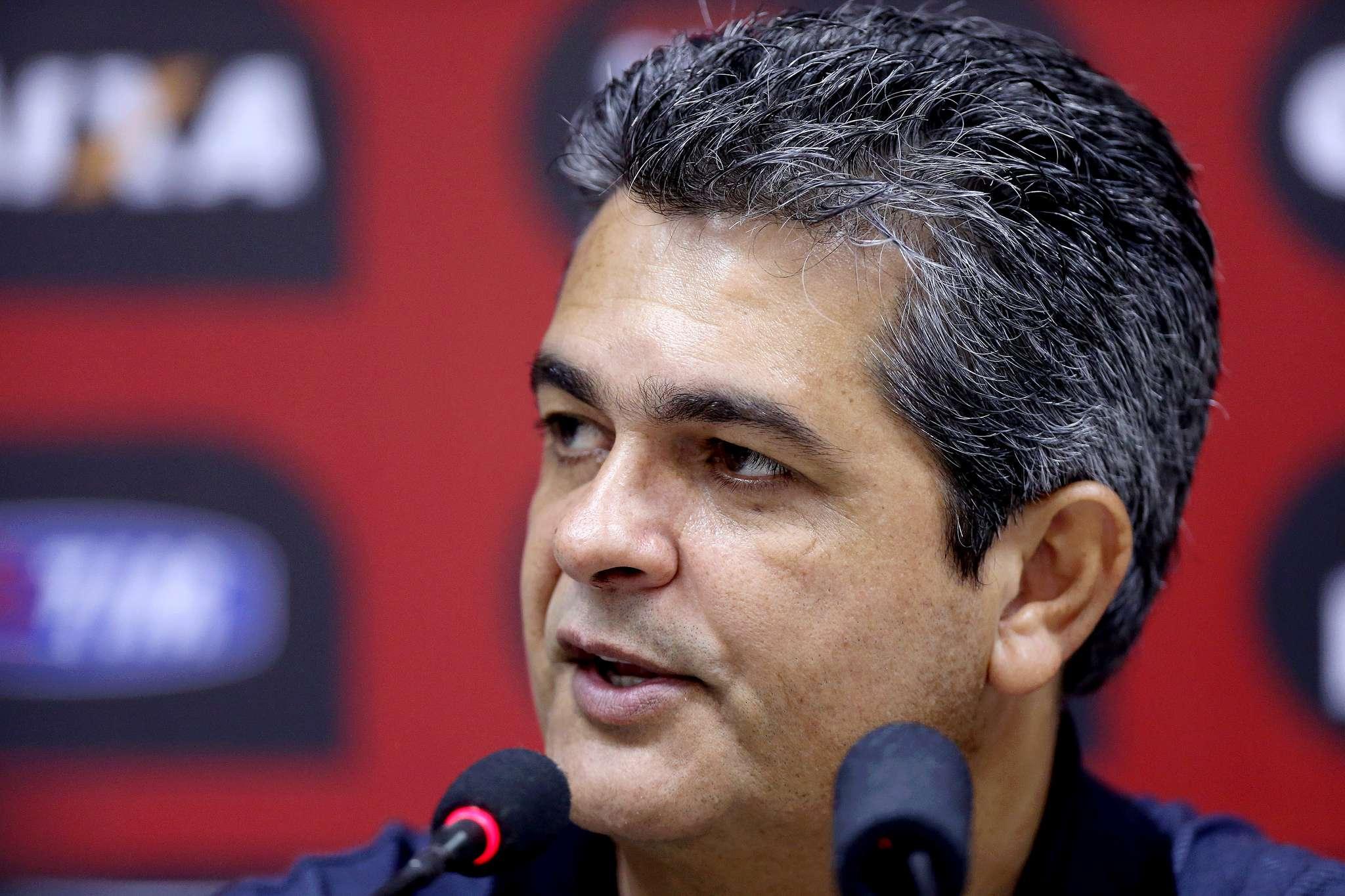 Técnico do Vitória poupou jogadores em treinamentos Foto: Felipe Oliveira/EC Vitória/Divulgação