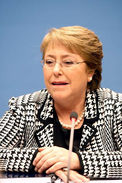 Presidenta Michelle Bachelet Foto: Agencia Uno